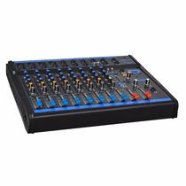 Aparelho Oneal Mesa De Som Omx 8 - 8 Canais Stereo + 1 Auxil