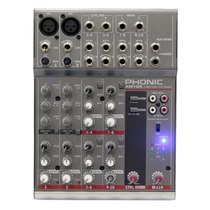 Mesa De Som Phonic Am105 Mixer - 015771