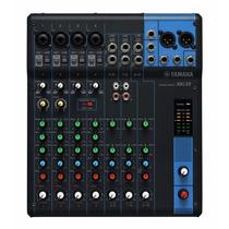 Mesa De Som Analógica Yamaha Mg10 Mixer 10 Canais
