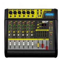 Mesa De Som Amplificada Vz60 Ii Skp Bivolt Mp3 400w Rms