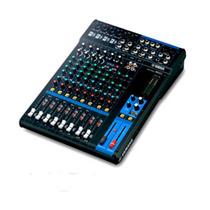 Mesa De Som Mg12 Yamaha Mixer De 12 Canais 4 Entradas De Mic