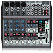 Mesa De Som Behringer C/ Efeito Xenyx 1202fx Mixer 12 Canais