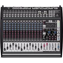 Mesa De Som Aplificada Behringer Europower Pmp5000 Mixer