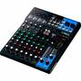 Mesa De Som Mixer Yamaha Mg10xu Preta - 10 Canais