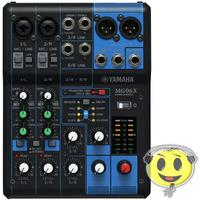 Mesa De Som Yamaha Mg06x 6 Canais Mixer Efeitos E Phantom