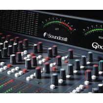 Mesa Soundcraft Ghost Le 32 Estúdio De Gravação