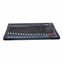 Mixer Line 16 Canais Usb Efeito Digital Phantom Power Oneal