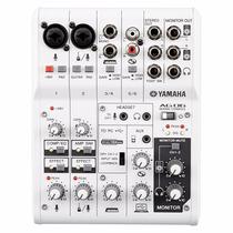 Mesa De Som E Interface Yamaha Ag06 - Com Garantia / N/f