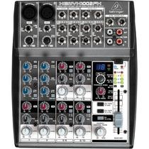 Mixer Behringer Xenyx Com 10 Canais 1002fx 2 Mic E 4 Estéreo
