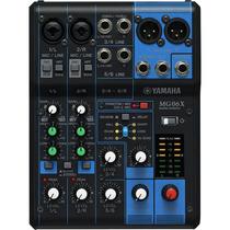 Mesa De Som 6 Canais Com Efeito Mg06x - Yamaha