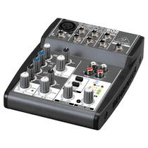 Mixer/mesa De Som Xenyx 502 Behringer 110v Com 5 Entradas