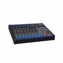 Mesa De Som 8 Canais Usb + Auxiliar Cd/dvd/mp3-4 Omx-8 Oneal