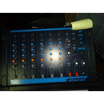 Mesa De Som Mixer 6 Canais Omx-6-ec