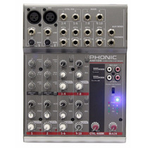 Am105 Mixer Mesa De Som 10 Canais Phonic Am 105