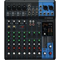 Mesa De Som Analógico Mixer 10 Canais Mg10xu - Yamaha