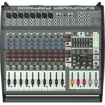 Mesa De Som Amplificada Pmp 4000 Behringer De 1600 Watts