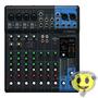 Mesa De Som Yamaha Mg10xu 10 Canais Mixer Oferta Kadu Som