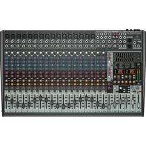 Mesa 24 Canais Behringer Sx2442fx Eurodesk Portal Music 4143