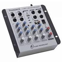 Mesa Ll Áudio - Nanomix Na 502r 5 Canais Usb