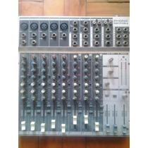 Mesa De Som Phonic Mm1705a (5 Canais Balanceados + 3 Stereo)