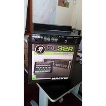 Mackie Dl 32r - Mixer Mesa De Som