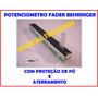 Potenciometro Deslizante D10kx2 Mesa De Som Behringer