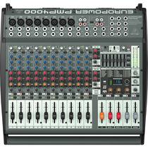 Mesa De Som Amplificada Behringer Pmp4000 800w 16 Canais