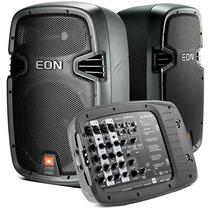 Jbl Caixa Mesa 8 Canais Pa Auto-amplificado Jbl Eon 210p