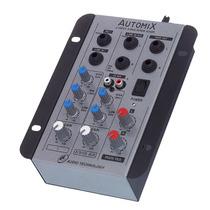 Mesa De Som Mixer Automix A202r (somente 12 Volts) Ll Audio