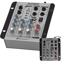 Mixer Ll Audio Automix A302r Usb - 3 Canais Maxcomp Musical