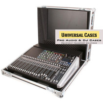 Road Case Para Soundcraft Si Performer 2 Cablebox