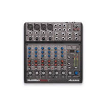 Mesa Interface Mixer Com Efeitos Alesis Multimix 8 Fire Wire