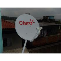4 Antenas Completas (lnb+kit Fixaçâo + Kit Cabo Com 20 Mt )