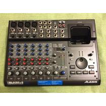 Mesa De Som Alesis Imultimix8 Usb - Gravação Direto No Ipod