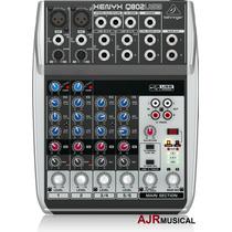 Mesa De Som Q802usb Xenyx Behringer Mixer Q802 Usb Q-802