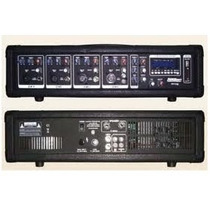 Mesa De Som Amplificada Lexsen Lpm-4usb