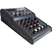 Alesis Multimix 4 Usb Fx 4-canais Mixer E Áudio Interface