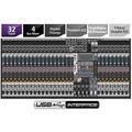 Waldman Krystal Studio Live 32.4 Ufx Mesa De Som + Placa Usb