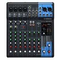 Mesa De Som Yamaha Mg10xu C/ Efeitos
