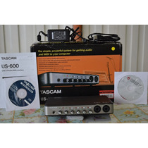Placa Interface Audio Tascam Us-600 Usb 2.0 Midi 6x4