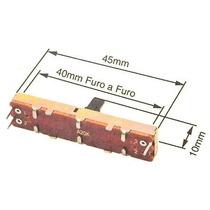 Potenciometro Deslizante A20k 45mm Total P/ Mesa Staner
