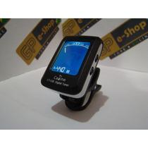 Afinador Eletrônico Digital Clip-on Tuner Ct-03b Caline