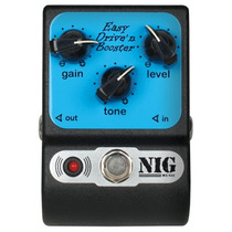 Easy Drive N Booster Pedal De Overdrive P/ Guitarra - Nig
