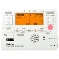 Korg Tmr-50 Pw Metrônomo Afinador Gravador Digital Compacto