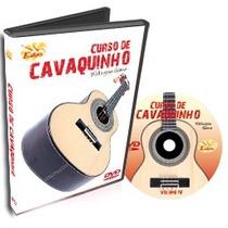 Dvd Edon Curso De Cavaquinho Avançados Vol4 Cheiro De Musica