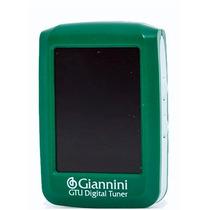 Afinador Digital Clip Giannini Gtu Colors - Verde Af0020