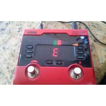 Afinador Korg - Pitchblack+ Pb-02 Red Limited Edi.