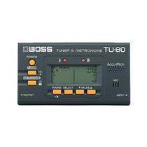 Afinador E Metrônomo Digital Boss Tu 80