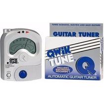 Afinador De Guitarra Violão Baixo Qwik Tune Qt-11 Frete 10,0