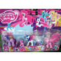 Kit My Little Pony Com 5 Bonecos - My Litle Poney Miniatura